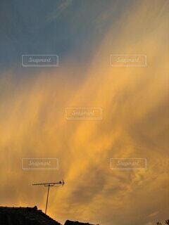夕焼け空の写真・画像素材[3752932]