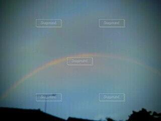 空の虹の写真・画像素材[3752934]