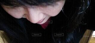 女性のクローズアップの写真・画像素材[3772284]