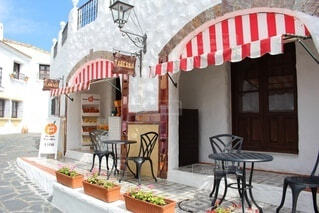 地中海村の写真・画像素材[3750779]