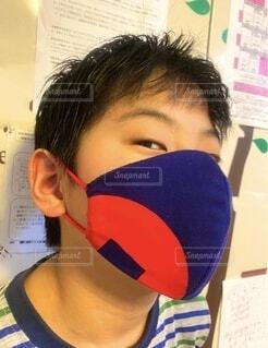 六文銭マスクの写真・画像素材[3758699]