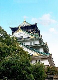 大阪城の写真・画像素材[3803769]