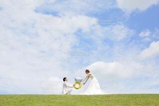 プロポーズの写真・画像素材[3751061]