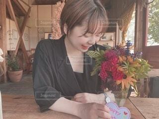 お誕生日デートの写真・画像素材[3778992]