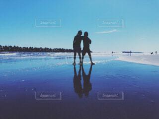 夏の海の写真・画像素材[3752434]