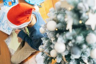 サンタさんありがとうの写真・画像素材[4006622]