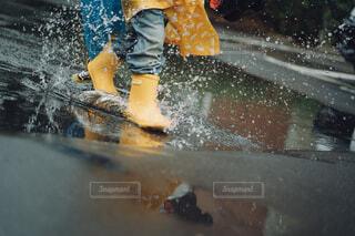 雨上がり万歳!の写真・画像素材[4233107]
