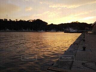 夕日の写真・画像素材[3797614]