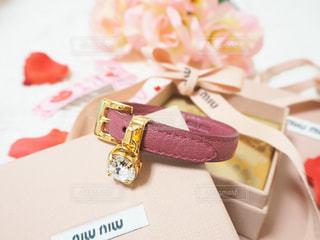 プレゼント,ブレスレット,miumiu,結婚式記念日,革婚式