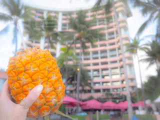 オレンジ ジュースのガラス - No.902373