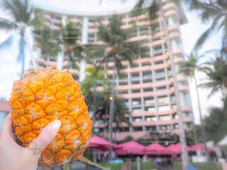 オレンジ ジュースのガラスの写真・画像素材[928130]