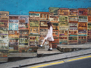 香港,ウォールアート