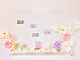 白い花のグループの写真・画像素材[1010597]