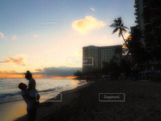 ビーチ,アメリカ,旅行,ハワイ,ワイキキ