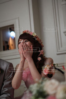 ケーキを食べる女の写真・画像素材[1237001]