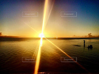海,空,夕日,夕焼け,フォトジェニック,インスタ映え
