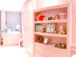 カフェ,ピンク,お店,香港