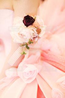 ピンク,結婚式,花嫁,お花,ブーケ,前撮り,pink,カラードレス,ウェディング
