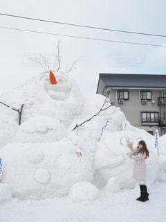 女性,雪,白,旅行,新潟
