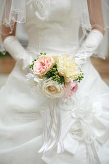 女性,白,結婚式,ドレス,ウェディングドレス,ブーケ