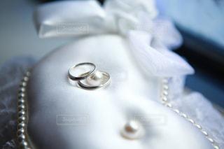 白,指輪,結婚式,結婚,リングピロー