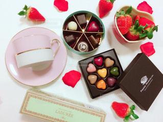 いちご,チョコレート,バレンタイン,チョコ,バレンタインデー