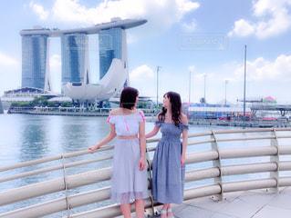 景色,旅行,シンガポール,女子旅,海外旅行,マリーナベイサンズ,友達