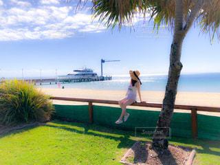 海,ビーチ,景色,旅行,オーストラリア,海外旅行,モートン島