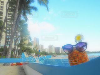 海,旅行,パイナップル,ハワイ,海外旅行