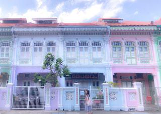建物,カラフル,景色,旅行,シンガポール,海外旅行,友達,カトン地区