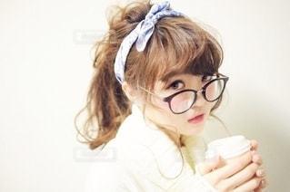 眼鏡をかけている人の写真・画像素材[2681863]