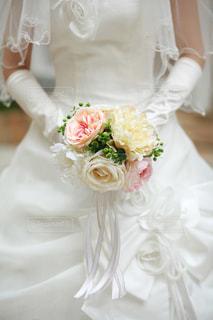 白いウェディングケーキの写真・画像素材[3084255]