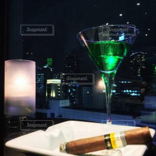 テーブル ワインのグラス - No.929787