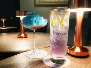 テーブル ワインのグラス - No.929854