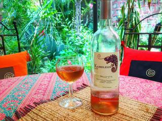テーブル ワインのグラス - No.929934