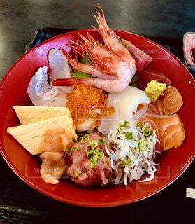 海鮮丼の写真・画像素材[3918085]