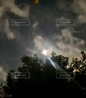 今夜の月の写真・画像素材[3927503]
