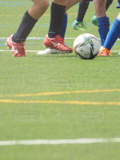 サッカーの写真・画像素材[4324166]