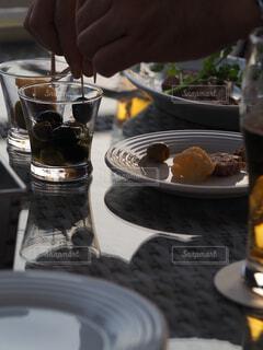 浜辺のレストランの写真・画像素材[4331280]