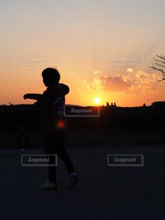 サッカーの練習の写真・画像素材[4375512]