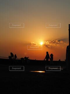 休日のビーチの写真・画像素材[4375514]