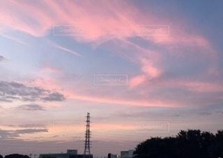 夕やけ。の写真・画像素材[3784356]