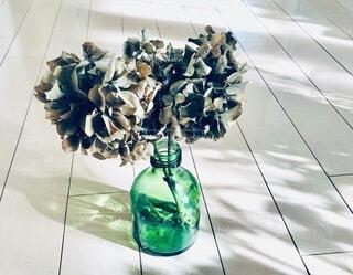 紫陽花のドライフラワー。の写真・画像素材[4168349]