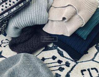 冬物の洋服。の写真・画像素材[4344931]