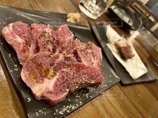 ラム肉の肩ロースの写真・画像素材[3790659]