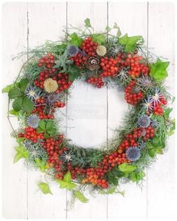 クリスマスリースの写真・画像素材[964828]