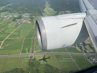 飛行機みっけ!の写真・画像素材[3820398]