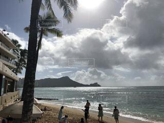 自然,風景,海,空,夏,屋外,ビーチ,青,砂浜,海岸,旅行,ハワイ