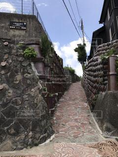 焼き物の町を探検。の写真・画像素材[3855966]