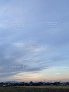 冬の雲の写真・画像素材[3994797]